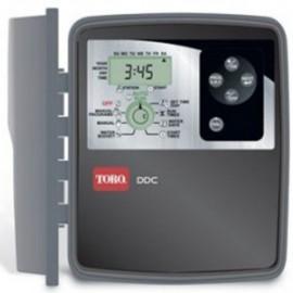 Programador de riego Toro DDC de 4-6 y 8 estaciones para exterior.
