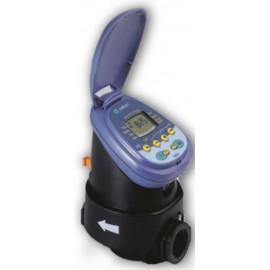 Progamador  de riego Galcon 7001-IP-68 con electrovalvula.