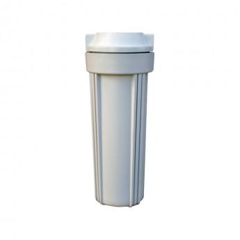 """Portacartuchos filtro 2P vaso opaco 10"""" conexion 1/4"""""""