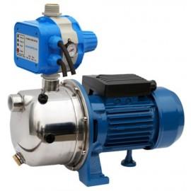 Bomba de presion autoaspirante con control electronico de arranque y paro serie GP-JETINOX.