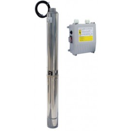 Bomba sumergible aguas limpias modelo 4S de 1 CV , 1'5 CV y 2 CV con CONTROL-BOX
