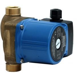 Bomba aceleradora para agua caliente con cuerpo de bronce.