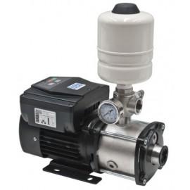 Bomba de presión compacta con variador de frecuencia y calderin.