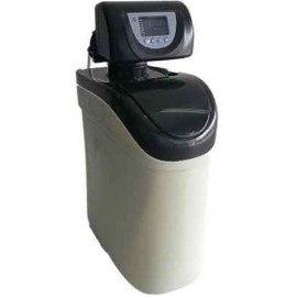 Descalcificador MINISOFT de 7 litros de resina,bajo consumo de sal y valvula electronica TM69.