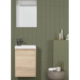 Mueble baño ENJOY PACK de ROYO con 1 puerta suspendido.