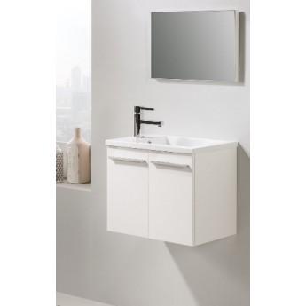 Mueble de baño DANUBIO con encimera y espejo.
