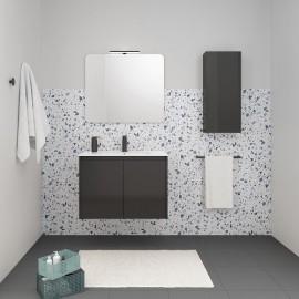 Mueble baño SANSA de royo suspendido de 2 puertas.