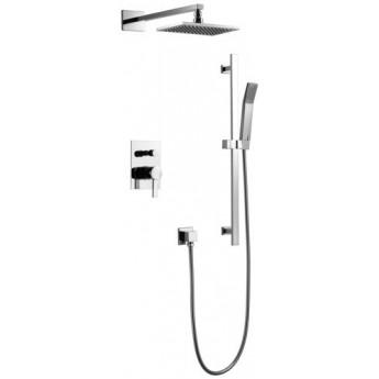 Ducha empotrar + barra de ducha - 2 vías Bimini de Clever