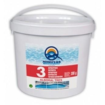 Alboral cloro 5 kg TRES EFECTOS en pastillas de 200 gramos.