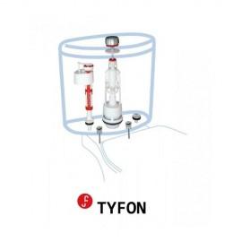 Mecanismo de descarga universal con pulsador TYFON 3G