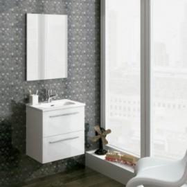 Mueble baño Royo STREET suspendido de 2 cajones de 50 cm de ancho.