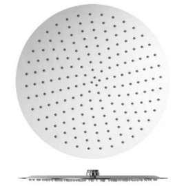 Rociador ducha Moscu de 20 cm de diametro extraplano en acero inoxidable.