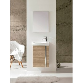 Mueble baño suspendido Elegance Pack de royo disponible en varios colores.