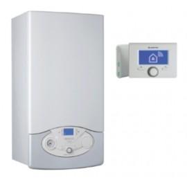 Caldera Ariston CLAS PREMIUM NET para calefaccion y agua caliente con cronotermostato incluido.