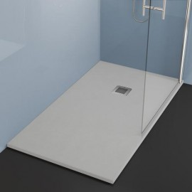 Plato ducha resinas con acabado gel coat de 3 cm de grosor.