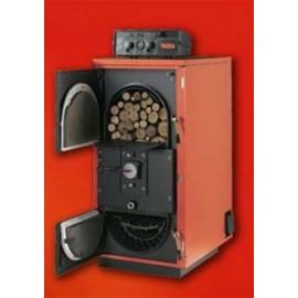 Caldera calefaccion de leña Tradewood-leña pirolitica.