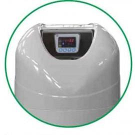 Descalcificador NOVO de 35 litros de resina,bajo consumo de sal y valvula electronica TM68.