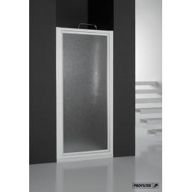 Mampara Profiltek ducha PDV 1 hoja pivotante ACRÍLICO.