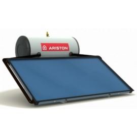 Equipo solar termosifon Ariston KAIROS THERMO HF con acumulador de 150 , 200 y 300 litros de capacidad.