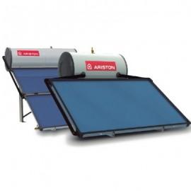 Calentador de agua solar termosifon Ariston KAIROS THERMO HF con acumulador de 300 litros de capacidad Y 2 modulos de captacion.