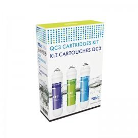 Kit cartuchos QC3